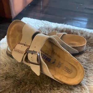 COPY - Soft Bed Suede Taupe Birkenstock's 37
